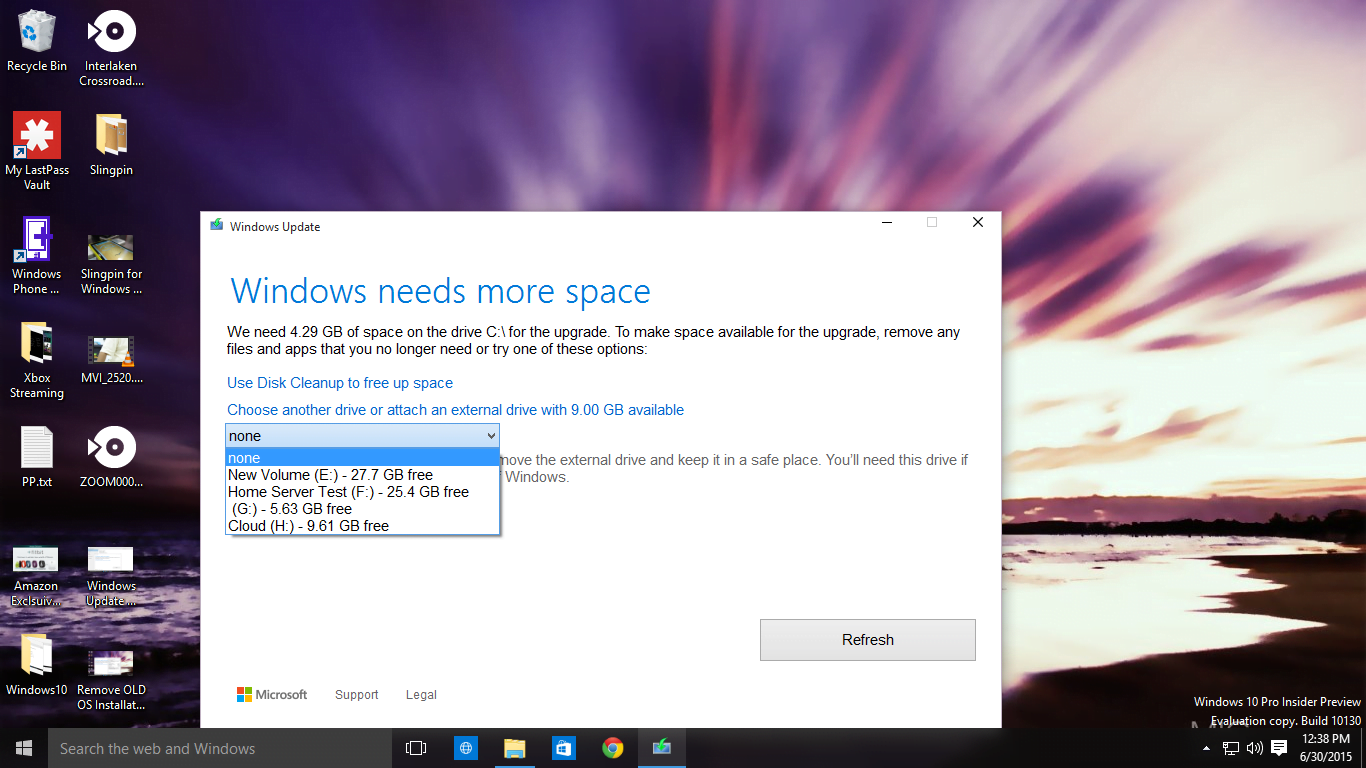 Fix Windows 10 Needs More Space to Upgrade