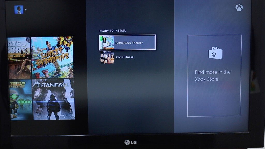 Xbox 360 Game List in Xbox One Store