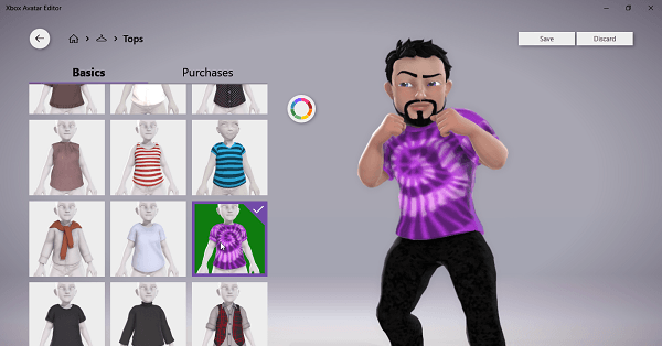 Edit Xbox Avatar Windows