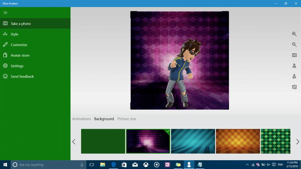Xbox Avatars Take a Photo
