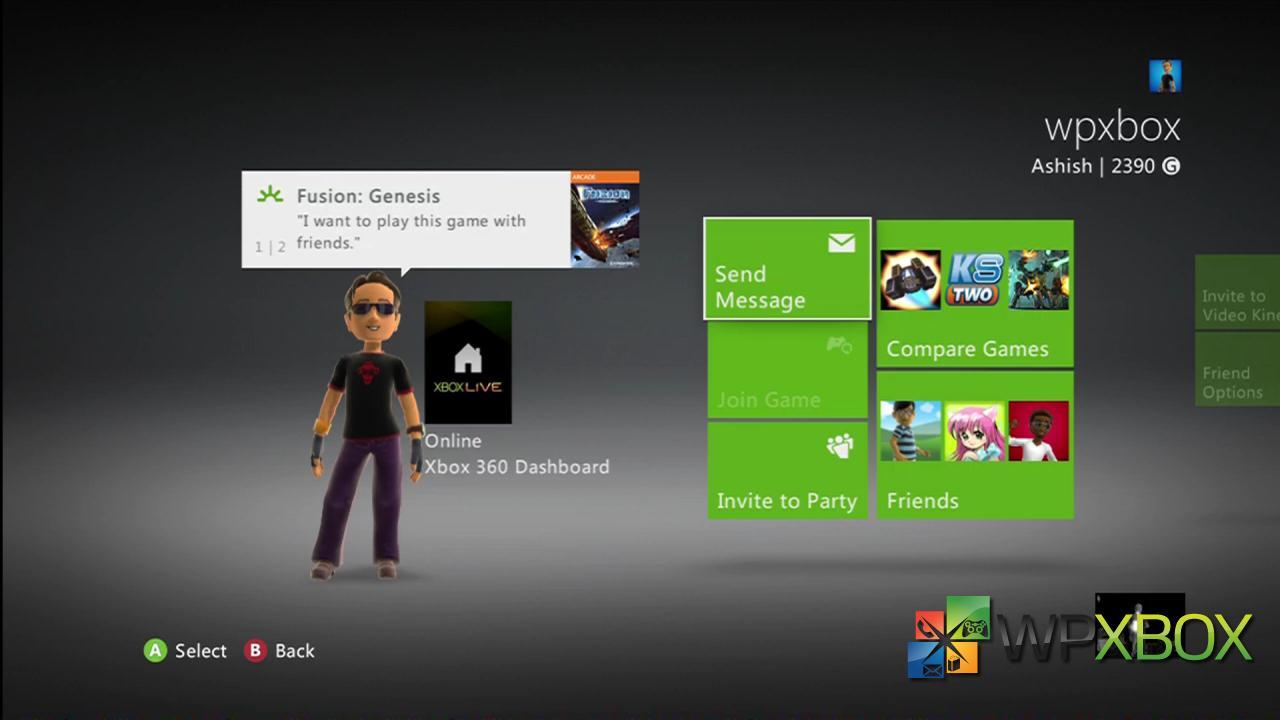 Setup Beacons Xbox 360