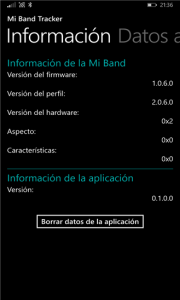 Xiaomi MI Band Firmware