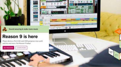 Reason Studios Reason Music production