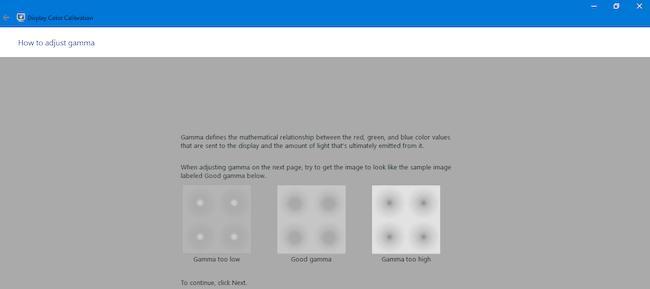 Windows 10 monitor color calibration