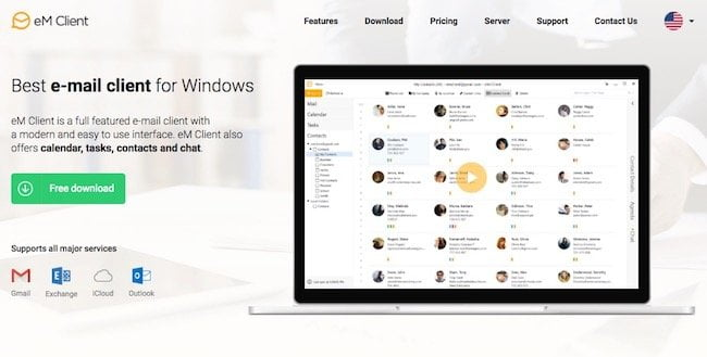 Em Client for Windows Email