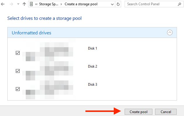 How to Create, Use, Manage and Delete Storage Spaces in Windows 10