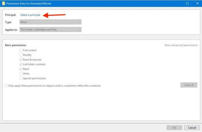 Ownership Files Folders Windows