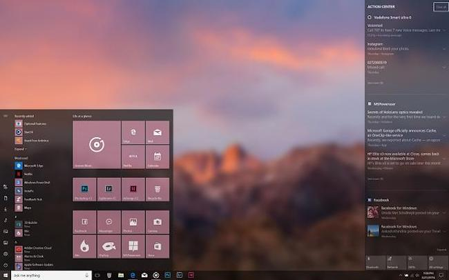 How to Apply Transparency Effects in Windows Tiles, Settings, Apps
