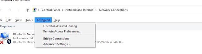 Ethernet and WIFI together on Windows 10