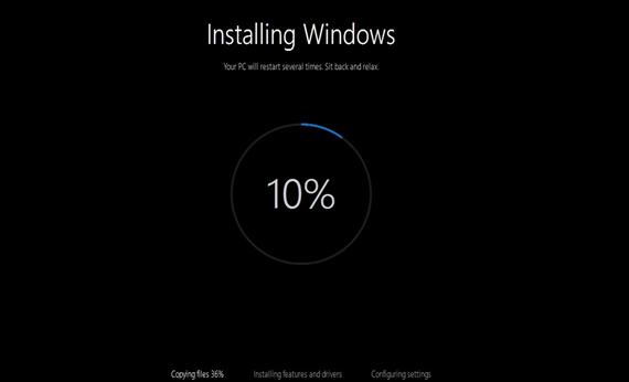 windows upgrade error