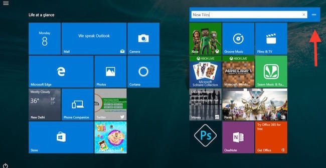 Customize Start Menu Windows